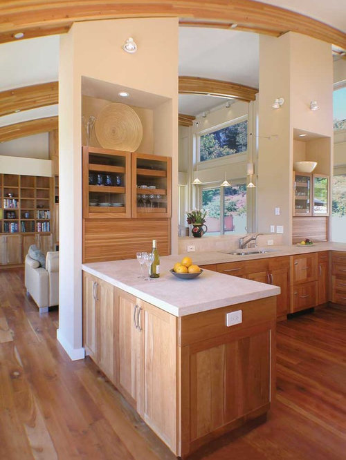 Cherry Cabinets Kitchen Home Design Ideas Pictures