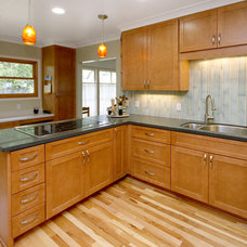 Contemporary Kitchen by K.C. Customs & Remodeling, Inc.