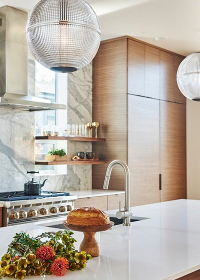 Modern Kitchen by Shelby Wood Design
