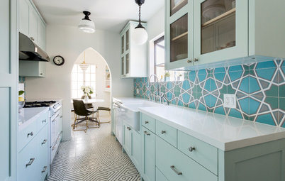 Kitchen of the Week: Bright and Happy for an L.A. Makeup Artist