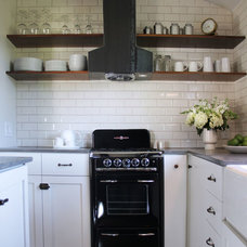 Traditional Kitchen by Amy Sklar Design Inc