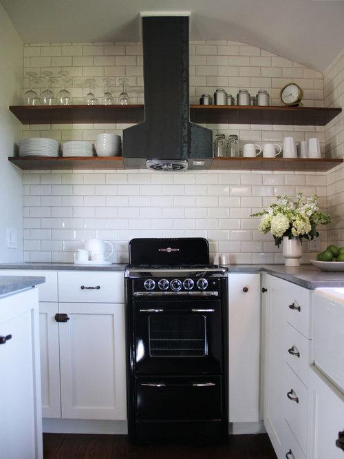 Open Kitchen Oven ~ Open shelving range hood home design ideas pictures