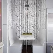 Contemporary Kitchen by Warren Techentin Architecture