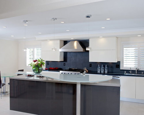 Contemporary kitchen colors houzz for Contemporary kitchen colours