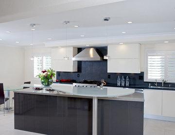 Los Gatos California Contemporary Kitchen Design
