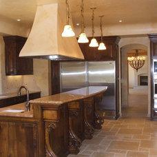 Mediterranean Kitchen by Marina Hanson Design