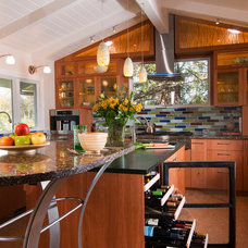 Eclectic Kitchen by Rehder Construction, Inc.