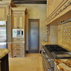 Mediterranean Kitchen by CrosbyHomeDesign.Com