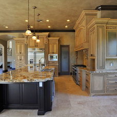 Mediterranean Kitchen by CrosbyHomeDesign.Com