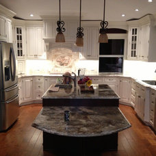 Traditional Kitchen Islands And Kitchen Carts by Rogers Designs Inc.