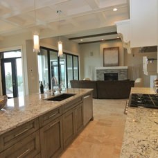 Transitional Kitchen by 3rd Generation Homes