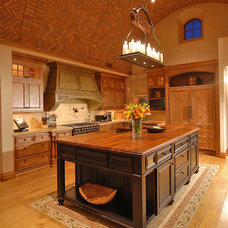 mediterranean kitchen by Craig Wickersham Inc