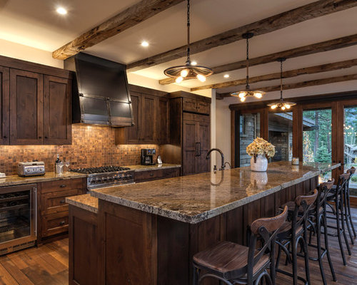 Rustic Galley Kitchen Design Ideas Renovations Amp Photos