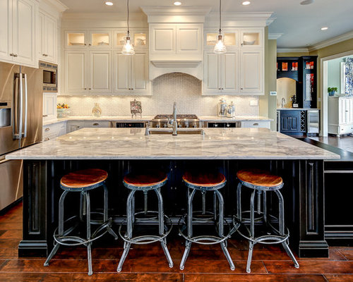Large Island Houzz