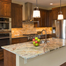Traditional Kitchen by Curtis Homes