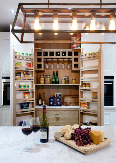 Eclectic Kitchen by Woodale