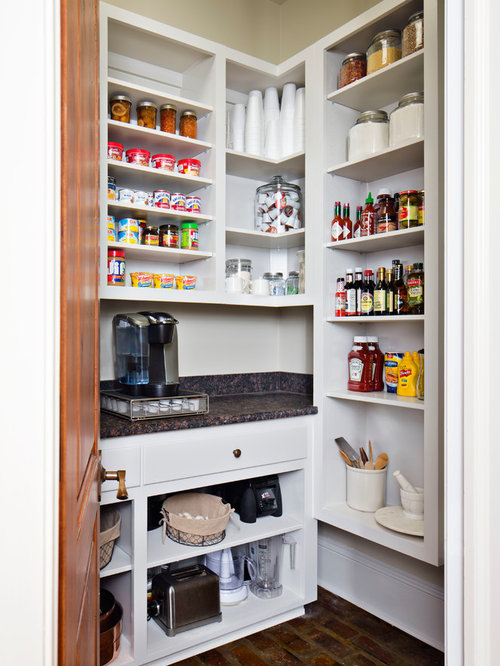 Small pantry home design ideas pictures remodel and decor - Kitchen pantry cabinet design plans ...
