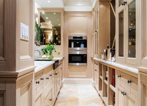 What is the finish on these cabinets? paint or stain and what color?