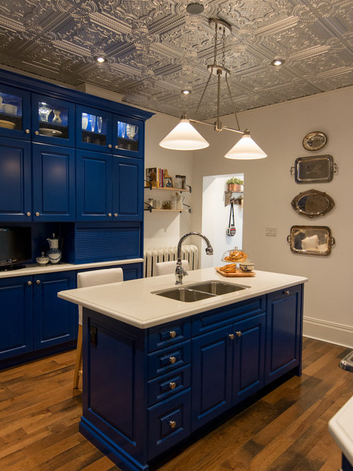 Blue Kitchen Ideas Pictures Remodel And Decor