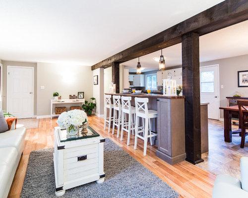 zweizeilige k chen mit zinkblech arbeitsplatte ideen bilder. Black Bedroom Furniture Sets. Home Design Ideas