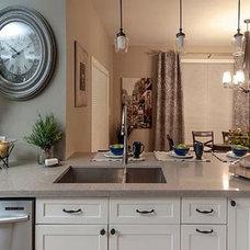Transitional Kitchen by Tango Kitchen & Bath Studio