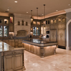 Traditional Kitchen by Brevard Stone Inc