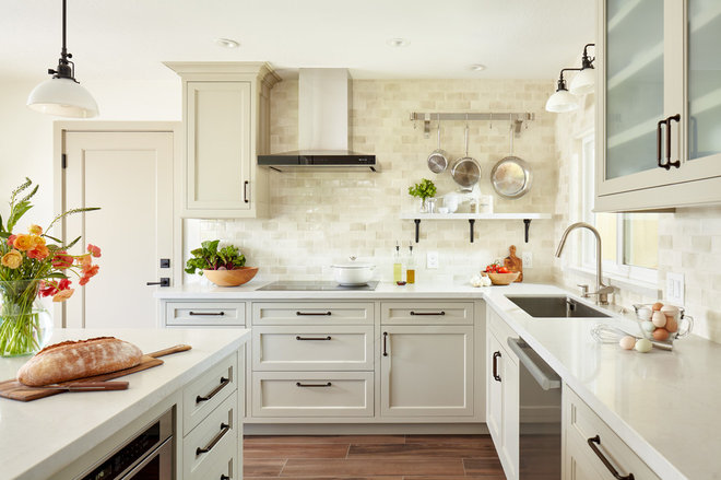 Transitional Kitchen by Agnieszka Jakubowicz PHOTOGRAPHY