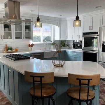 Lovely Long Beach Kitchen Remodel