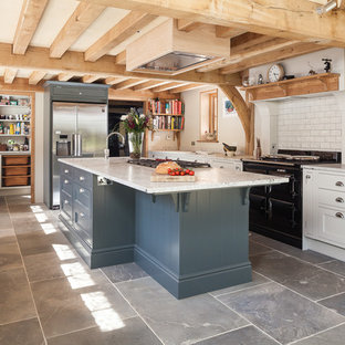 Lovingly and locally crafted English country kitchen