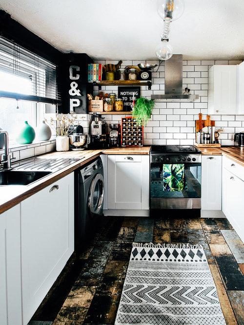 Ideas para cocinas | Fotos de cocinas con salpicadero de azulejos de ...