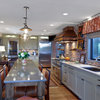 Kitchen of the Week: Upscale Barn Meets Industrial Loft Style