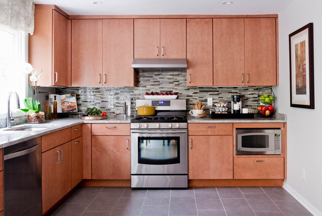 here it is see our finished kitchen sweepstakes makeover