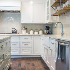 Transitional Kitchen by Rittenhouse Builders