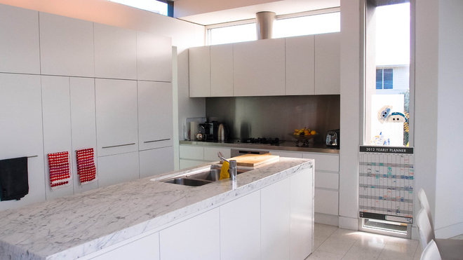 Contemporary Kitchen by Monica Kovacic
