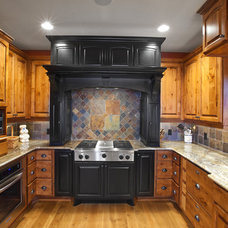 Traditional Kitchen by RemWhirl Architecture & Landscape Design