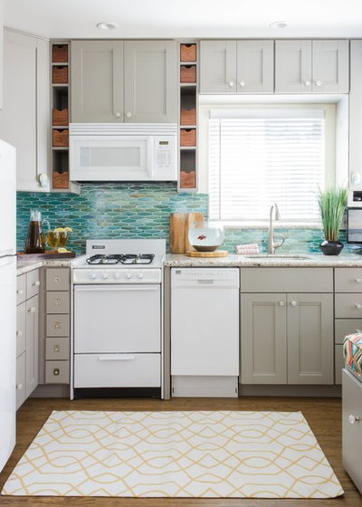 Houzz Tour: Room for Everything in a 275-Square-Foot Beach Studio