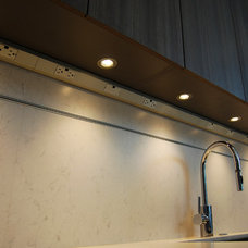 Contemporary Kitchen by Lighting Unlimited
