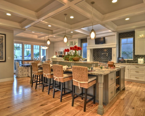 Hickory floors houzz for Show me beautiful kitchens