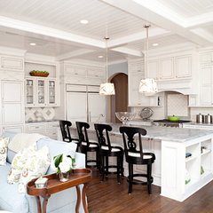 contemporary kitchen by B&S Woodworking Inc.
