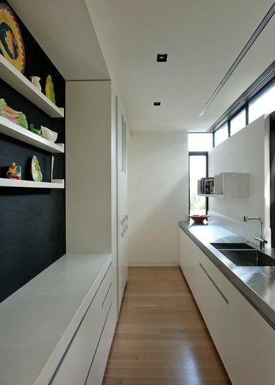 10 id es d co pour optimiser une cuisine lin aire for Cuisine lineaire design
