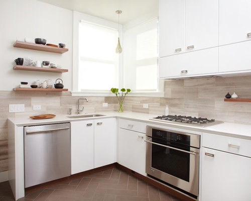 Brick Pattern Backsplash Tile