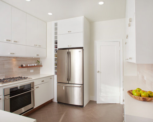 Wall Ovens Next To Refrigerators Houzz