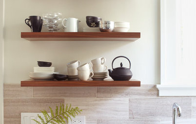 How to Arrange Open Shelves in the Kitchen