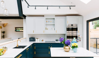Lucy's Open Plan Blue Kitchen