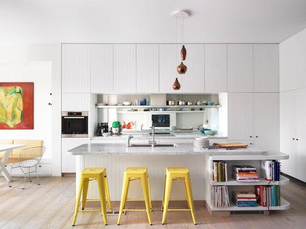 Contemporain Cuisine by Luigi Rosselli Architects