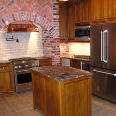 traditional kitchen by Antoine Architects, LLC