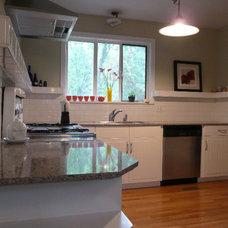 Contemporary Kitchen Lullwood Kitchen West