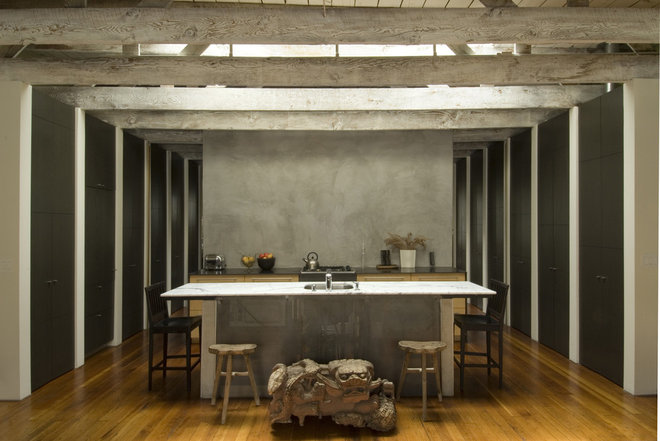 Industrial Kitchen by John Lum Architecture, Inc. AIA