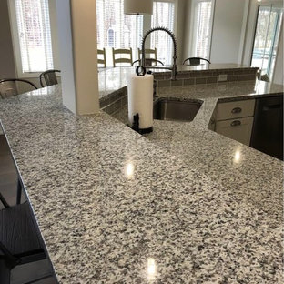 Luna Pearl Granite Kitchen Countertops