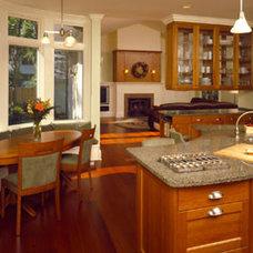 Traditional Kitchen by Eifler & Associates Architects